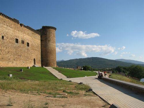 Castle Valdecorneja in the village of El Barco de Avila.