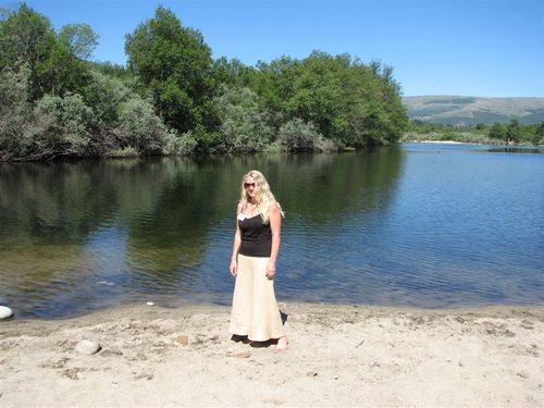 Me at the River Tormes